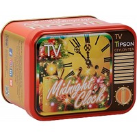 TIPSON TV Midnight Clock plech 25g