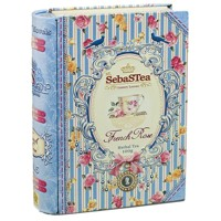 SebaSTea kniha French Rose 100g