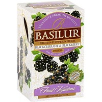 BASILUR Fruit Blackcurrant & Blackberry  20x1,8g- bez kofeinu