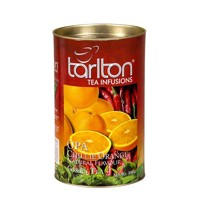 Tarlton Chillie orange 100g zelený čaj